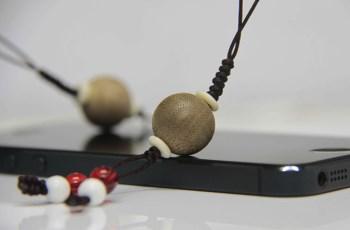 【香缘木艺】加里曼丹沉香单珠转运珠手机挂件-收藏网