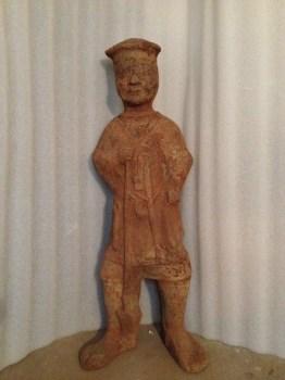 汉代农夫俑-收藏网
