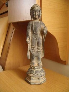 清大日如来佛铜像雕塑-收藏网