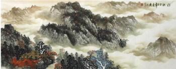 赵连生·小六尺山水-收藏网