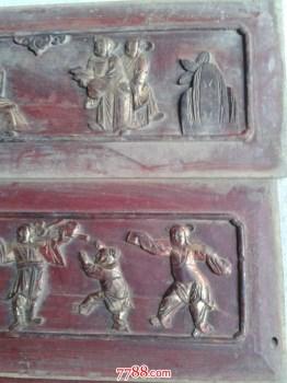 五片花板东阳木雕-收藏网
