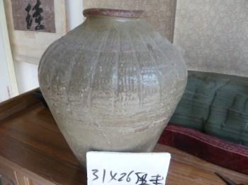 元代青釉罐-收藏网