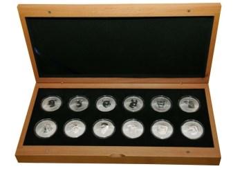 十二生肖兽首纪念银币-收藏网