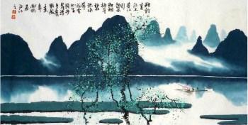 陈献钧·四尺四开山水小品-收藏网