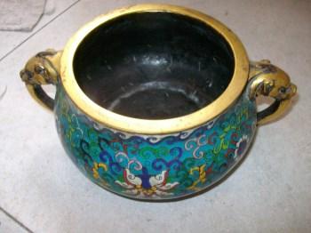 铜胎掐丝珐琅鎏金炉-收藏网