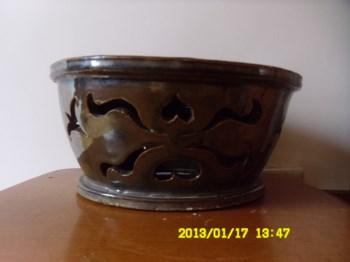 宋代酱釉枕-收藏网