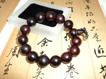 老料小叶紫檀珠串手链(3)-中国收藏网