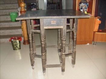 铁力折叠方桌-收藏网