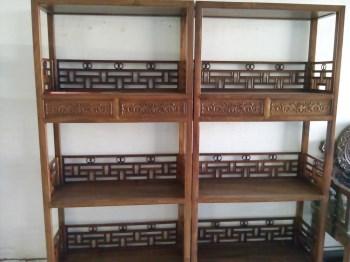 非洲花梨书架-中国收藏网