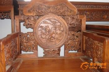 非洲花梨中堂-中国收藏网