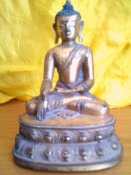 铜鎏金佛像-收藏网
