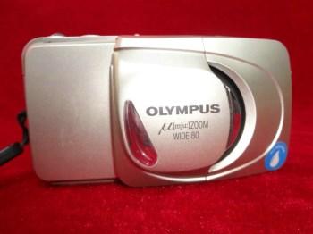 胶卷老相机OLYMPUS,带胶卷-收藏网