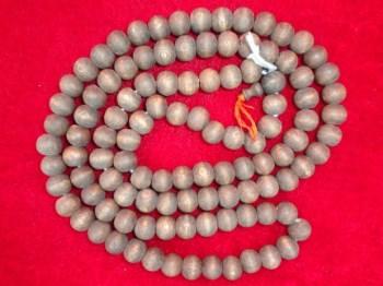 DWPB3香气很大的具有特色木纹的木质老挂珠佛珠一串-收藏网