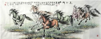 陈天祥·小六尺八骏图-收藏网