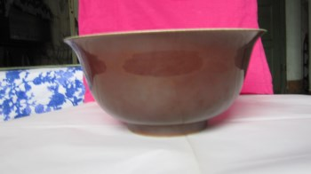紫碇青花釉里红大碗-收藏网