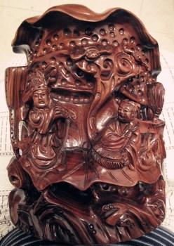 巴西花梨手工雕品-收藏网