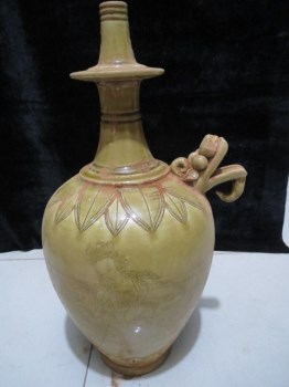 北宋越窑青瓷净瓶 -收藏网