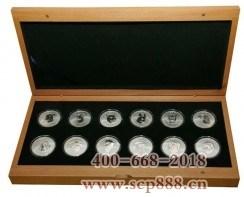 十二生肖兽首纪念银币大全套-收藏网