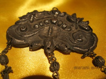 清代银锁-收藏网