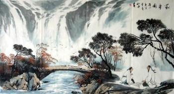 刘知善·六尺山水-收藏网