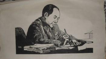 毛泽东版画-收藏网