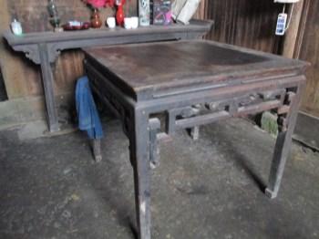 明式方桌【红豆杉】-收藏网