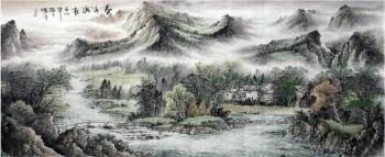 李曙峰·小八尺国画山水-收藏网