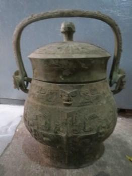 青铜提梁壶-收藏网
