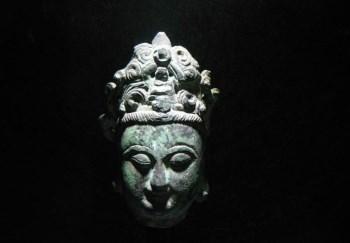 元代青铜菩萨首 -收藏网
