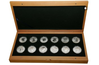 十二生肖兽首银币-收藏网
