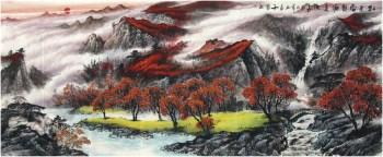 刘知善·小八尺山水国画-收藏网