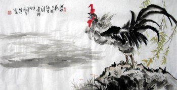 韦仲传·三尺写意大吉图-收藏网