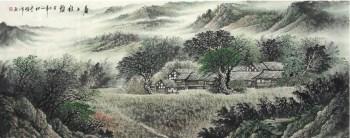 李曙峰·小六尺国画山水-收藏网