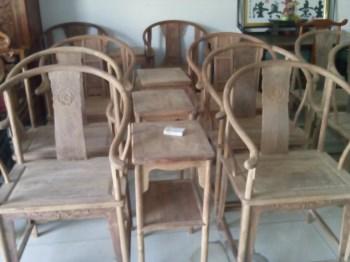 非洲花梨小圈椅-收藏网