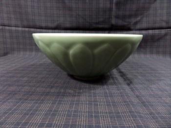 宋豆青蕉叶大碗-收藏网
