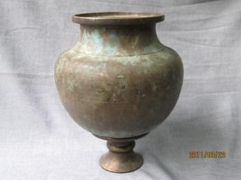 唐 炼丹大铜罐-收藏网