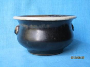 北宋     黑定炉(笔洗、咨询价)-中国收藏网