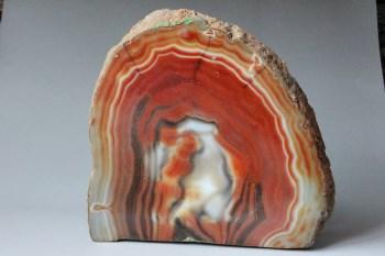 缠丝玛瑙原石插屏4-收藏网