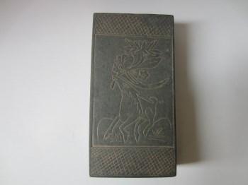宋刻花盖砚-中国收藏网