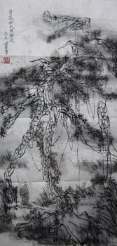 蕭勇《月光如水照緇衣》-收藏网