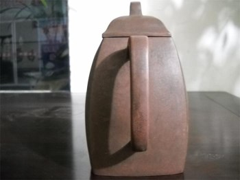 老紫砂汉方壶-收藏网