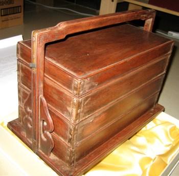 黄花梨 提盒-收藏网