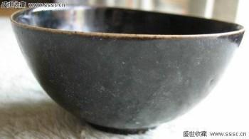 元代吉州窑黑碗-收藏网