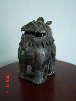 铜瑞兽香薰-收藏网