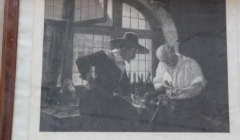 铜板丝网印刷画-收藏网