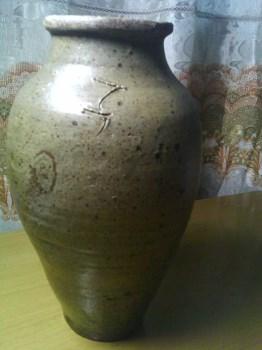北宋青瓷瓶<牛脚瓶>-收藏网