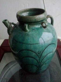 四耳陶罐1只-收藏网