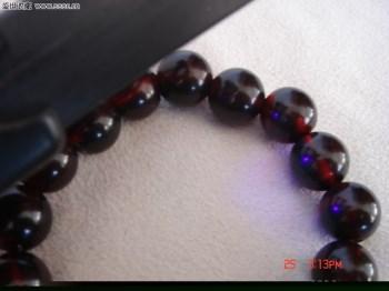天然血珀手链(14mm,小号)-收藏网