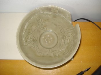 耀州窑大碗,瓷片标本-收藏网