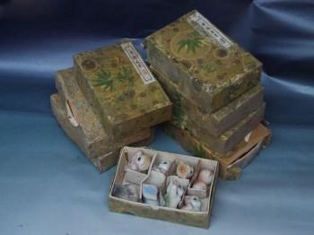 景德镇雕塑瓷厂珍珠釉粉彩八猫一套 -收藏网